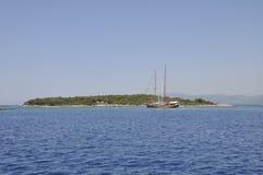 Costa costa de la provincia de Mugla Imagenes de archivo