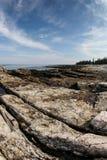 Costa costa de Maine Fotos de archivo