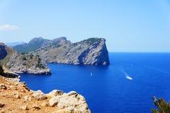 Costa costa de Mallorca Foto de archivo