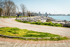 Costa costa de Moda en Estambul, Turquía Fotos de archivo libres de regalías