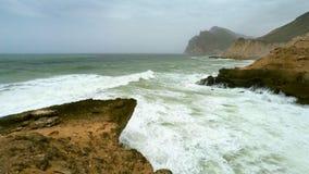 Costa costa de Omán almacen de metraje de vídeo