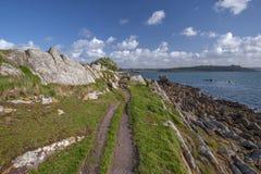 Costa costa de Plougasnou Imagen de archivo