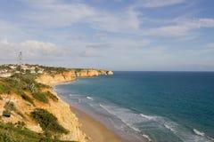 Costa costa de Portugal Fotos de archivo libres de regalías