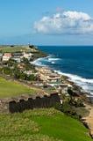 Costa costa de San Juan Imágenes de archivo libres de regalías
