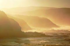 Costa costa de Sopelana Foto de archivo