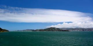 Costa costa de Wellington Fotografía de archivo libre de regalías