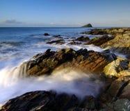 Costa costa de Wembury Fotografía de archivo libre de regalías