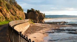 Costa costa de Wollongong Fotografía de archivo