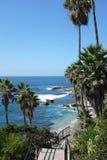 Costa costa del Laguna Beach Fotos de archivo