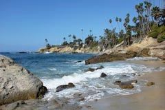 Costa costa del Laguna Beach Foto de archivo