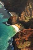 Costa costa del Na Pali, Kauai Foto de archivo libre de regalías