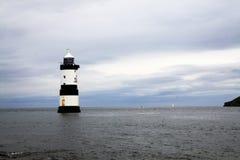 Costa costa del norte de País de Gales Imágenes de archivo libres de regalías