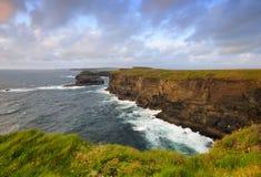 Costa costa del oeste de Clare Imagen de archivo