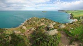 Costa costa del puerto del vencedor Fotografía de archivo