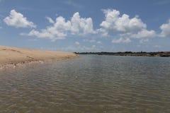 Costa costa del sur - natal, RN, el Brasil Imágenes de archivo libres de regalías