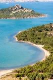 Costa costa en Ayvalik Turquía Fotografía de archivo