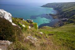 Costa costa en Cornualles fotos de archivo