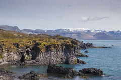 Costa costa hermosa Imagen de archivo libre de regalías