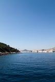 Costa costa imponente Foto de archivo libre de regalías