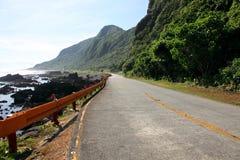 Costa costa, isla verde, Taiwán fotos de archivo libres de regalías