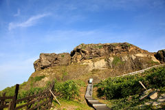 Costa costa, isla verde, Taiwán Foto de archivo