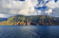 Costa costa Kauai del Na Pali Foto de archivo