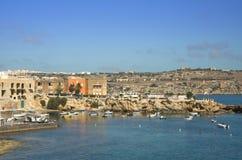 Costa costa maltesa Foto de archivo libre de regalías
