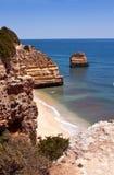 Costa costa mediterránea Fotos de archivo libres de regalías
