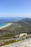 Costa costa meridional del océano Fotografía de archivo