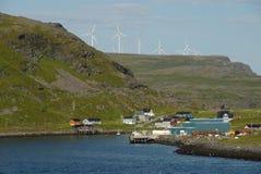 Costa costa noruega Fotografía de archivo libre de regalías