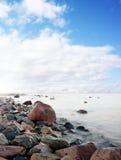 Costa costa pintoresca Foto de archivo libre de regalías