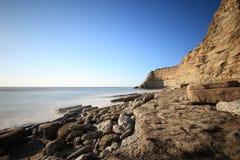 Costa costa portuguesa Imágenes de archivo libres de regalías