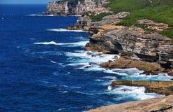 Costa costa real del parque nacional, Australia Imágenes de archivo libres de regalías