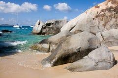 Costa costa rocosa Imágenes de archivo libres de regalías