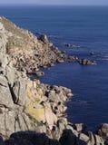 Costa costa rocosa Fotos de archivo