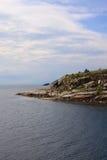 Costa costa rugosa Imagen de archivo libre de regalías