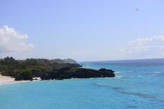 Costa costa tropical Imagenes de archivo