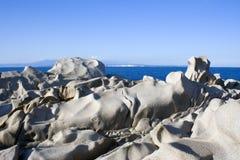 Costa costa volcánica Imágenes de archivo libres de regalías