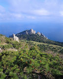 A costa crimeana Fotografia de Stock Royalty Free