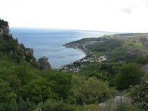 Costa crimeana do Mar Negro Fotografia de Stock Royalty Free