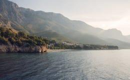 Costa Croacia imagenes de archivo