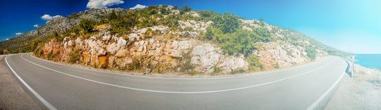Costa croata Foto de archivo libre de regalías