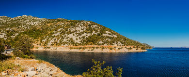 Costa croata Foto de archivo