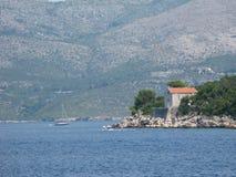 Costa croata Imagem de Stock Royalty Free