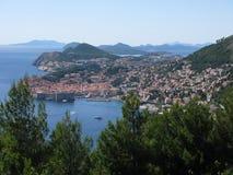 Costa croata Foto de Stock