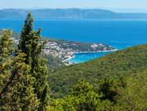 Costa, Croazia Fotografia Stock