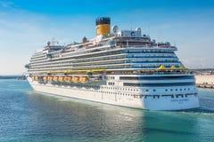 Costa Cruise Lines in Rome Stock Foto