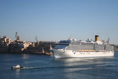 Costa Cruise Ship Royalty Free Stock Images