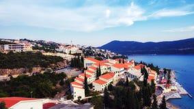 Costa dálmata en Croacia Fotos de archivo