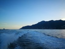 Costa d& x22; amalfi Fotografia Stock